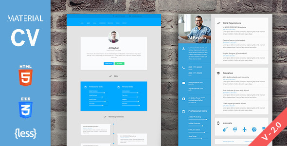 Top  Best Resume Website Templates For Spring