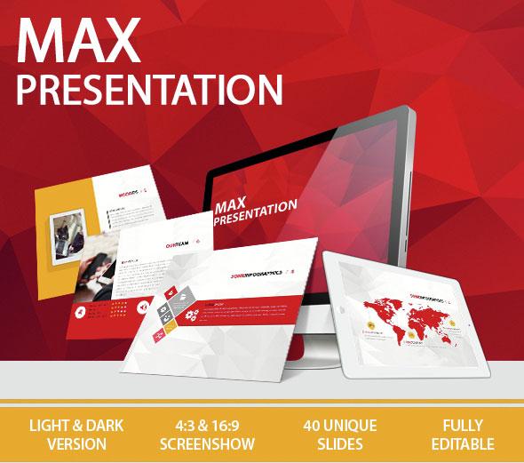 max keynote presentation