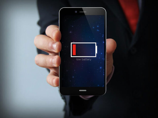 smartphone battery