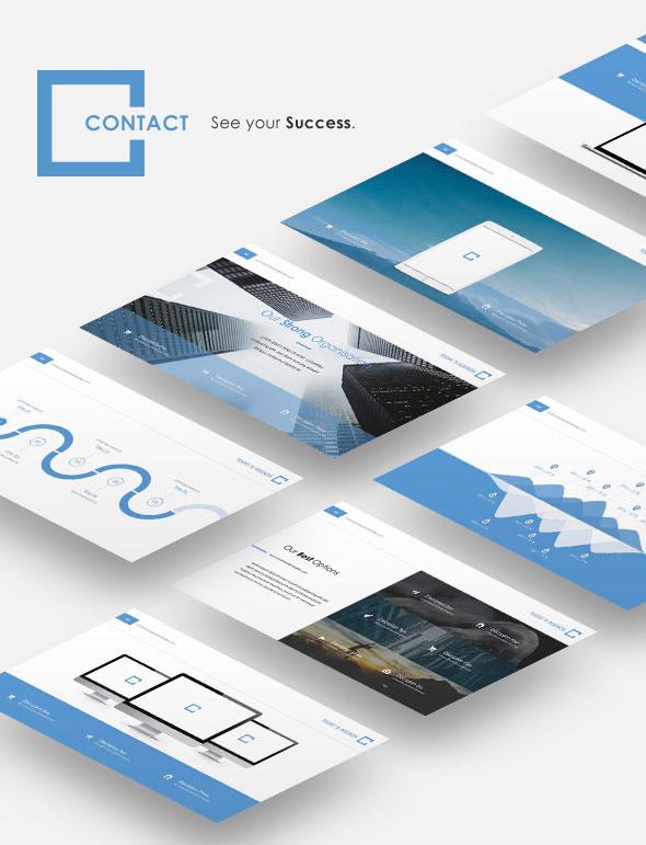 Preview Portfolio Contact Keynote