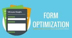Optimize web form for better conversion