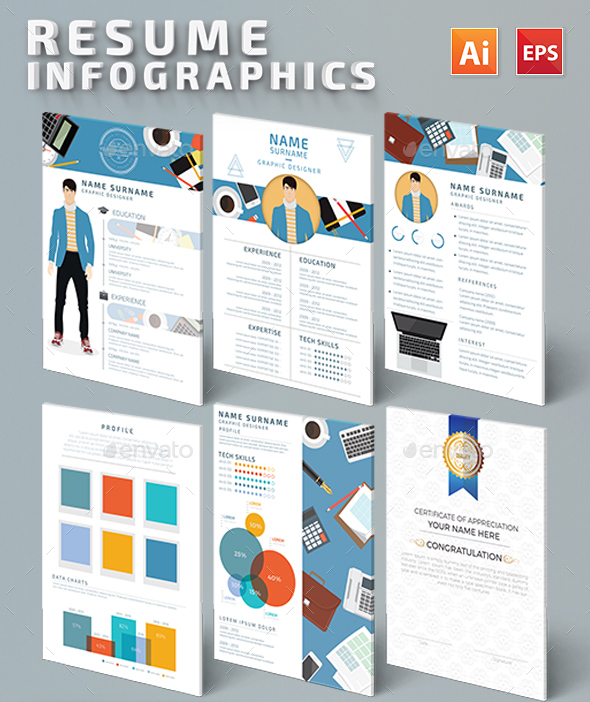 Infographic resume review