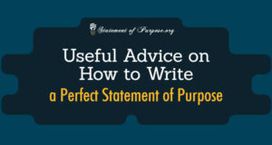 Write a Perfect Statement of Purpose Featured