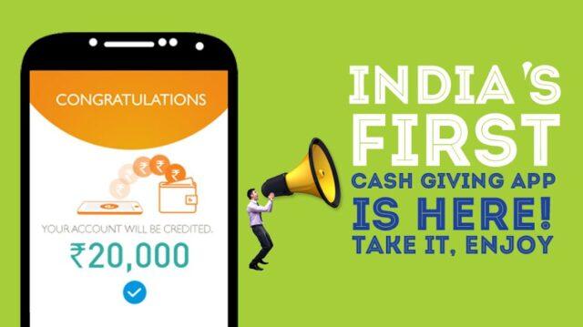 Cashe – the cash giving app