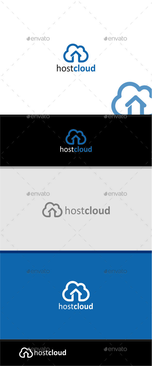 host cloud logo