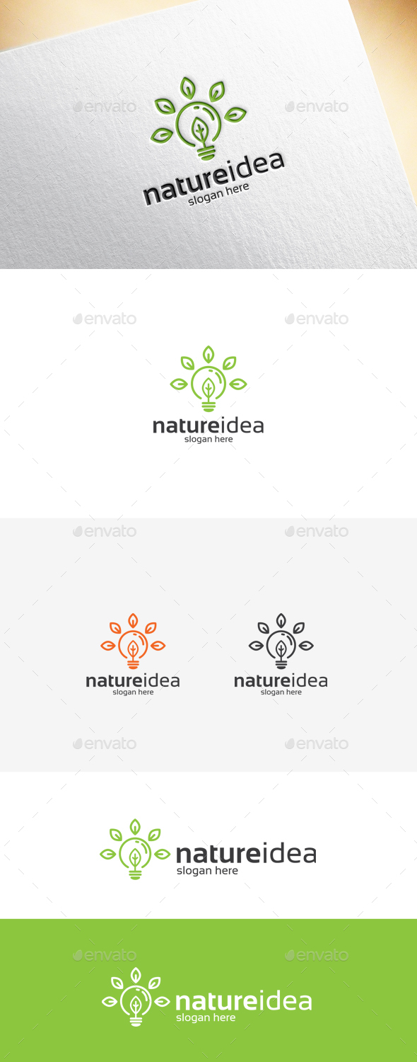 nature idea logo