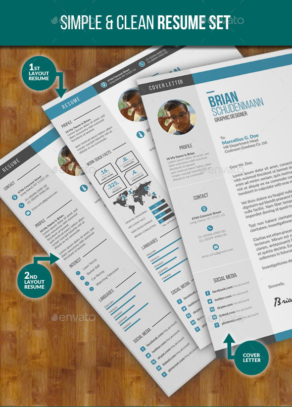 Top 10 Awesome & Creative Resume Templates for Spring 2016