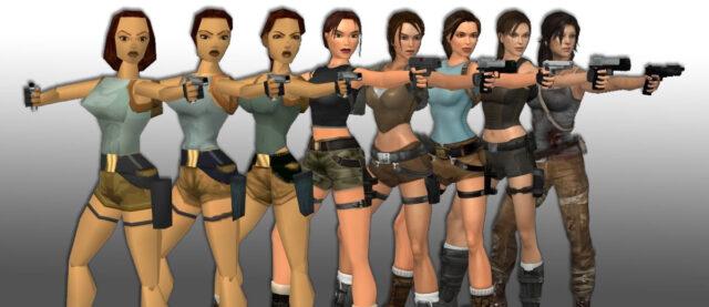 Evolution of Lara Croft