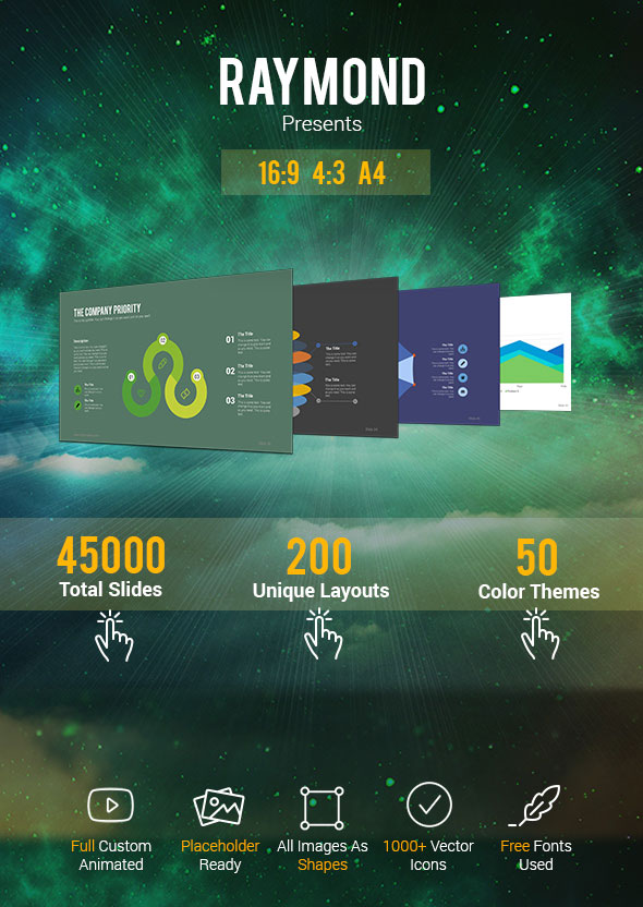 Preview business powerpoint template