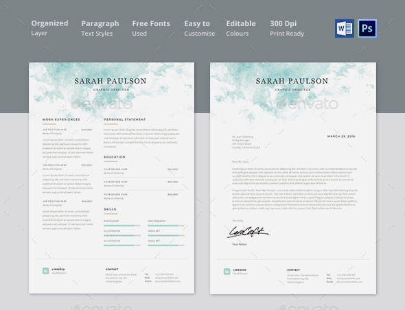 Preview resume template