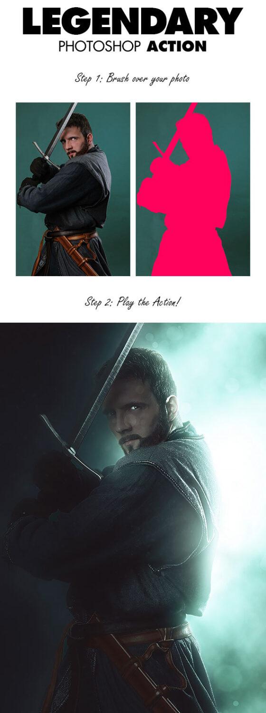Legendary photoshop actions