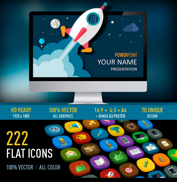 business flat powerpoint
