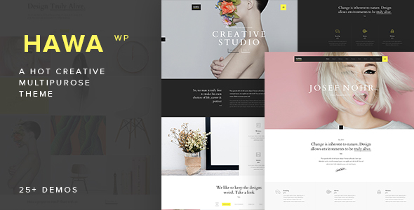 hawa wordpress theme