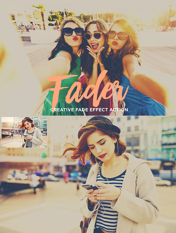 Fader - Photoshop Actions