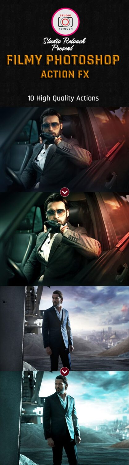 filmy photoshop actions