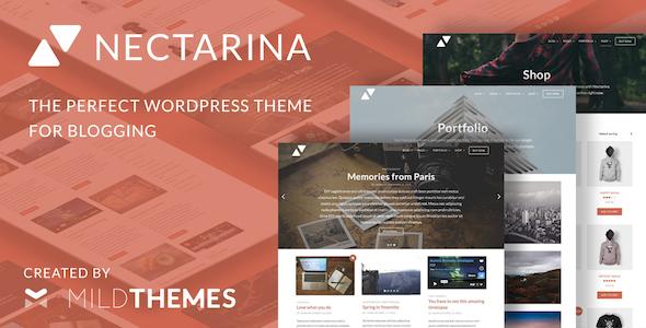 nectarina wordpress theme