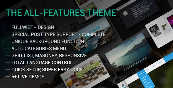 Fine – The Fullwidth All-Features Tumblr Theme