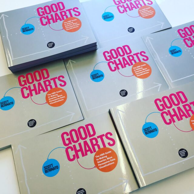 good charts the hbr guide to making smarter more persuasive data visualizations