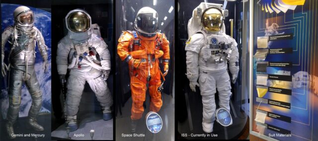 spacesuits evolution