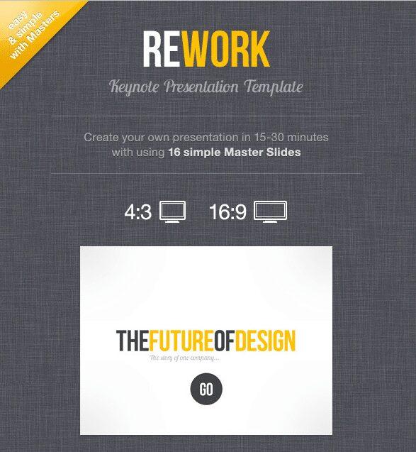 Rework best keynote templates