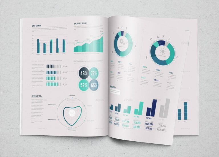 Infographic maker list with an authentic infographic template design for top solutions