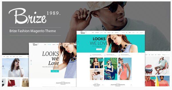 Brize Magento Fashion Themes