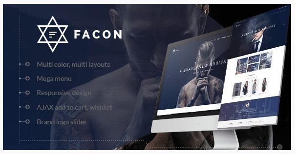 Facon magento fashion themes