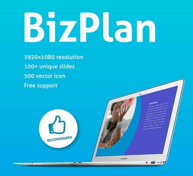 BizPlan-Keynote-template