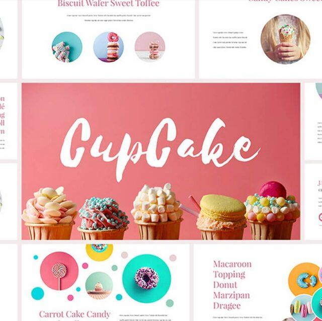 CupCake-Keynote-Template