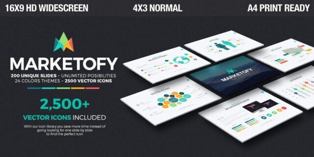 marketofy- modern keynote templates