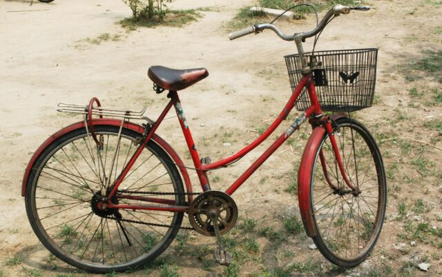 negotiate price-old-bicycle