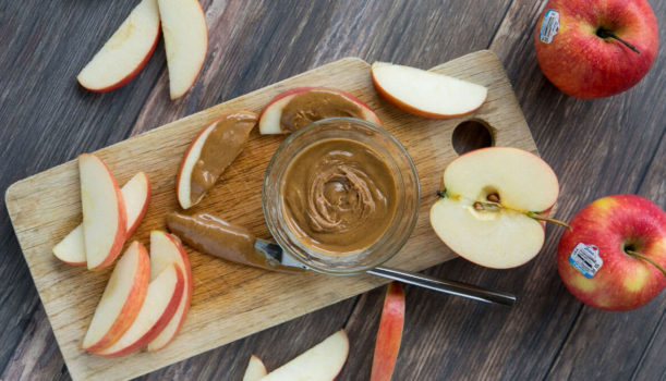 Apple and peanut butter calories