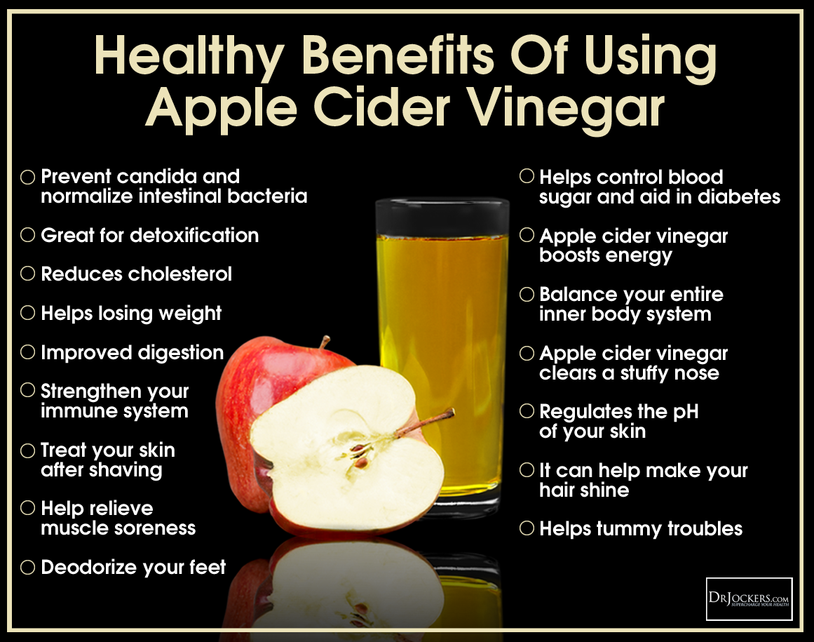 apple cider vinegar during breastfeeding aids digestion