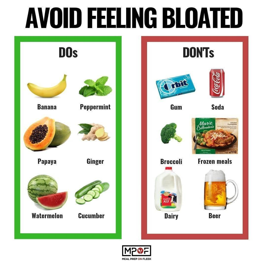 what foods make you bloated