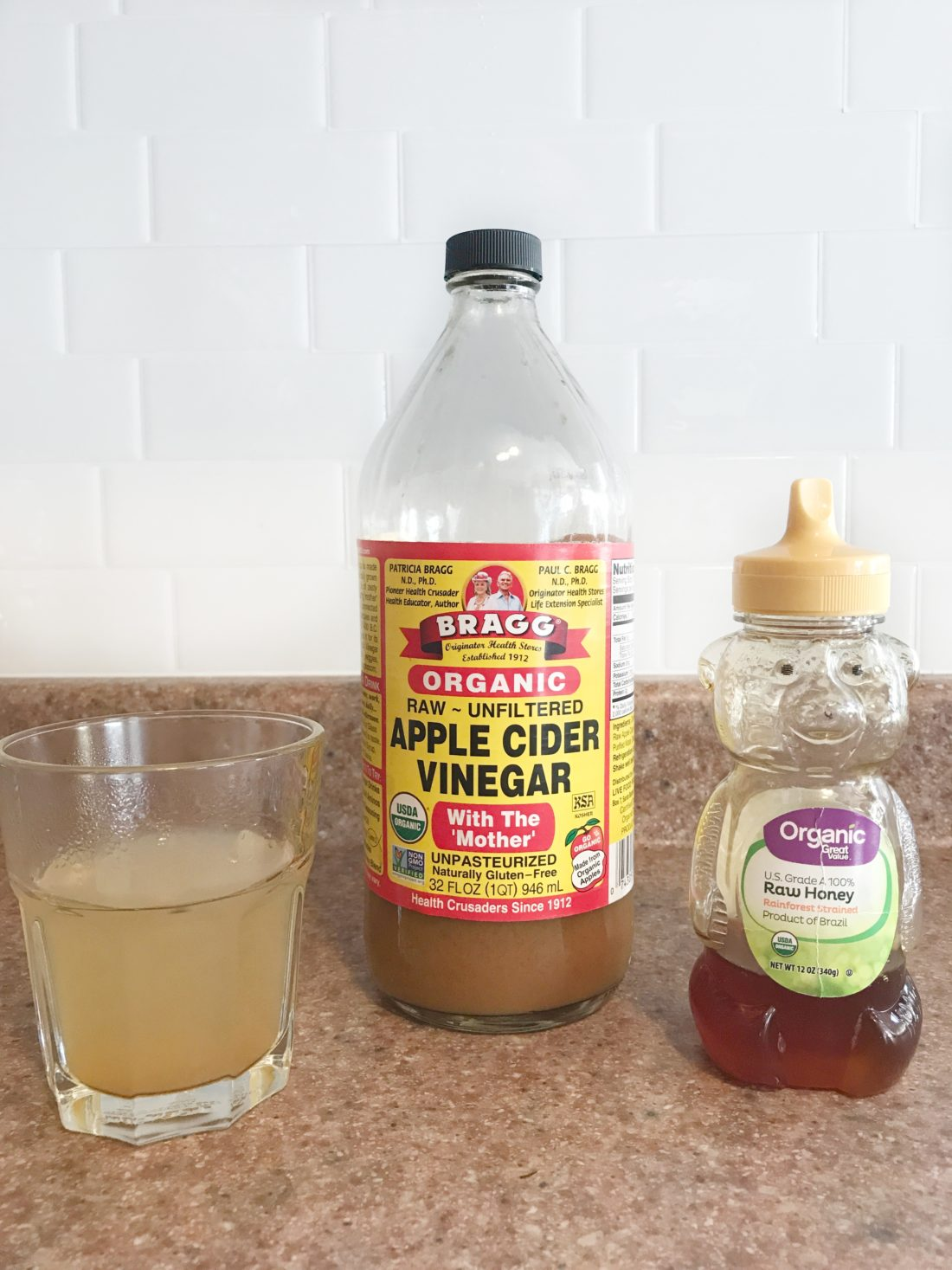 apple cider vinegar and honey-apple cider