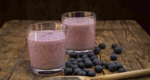 apple blueberry smoothie calories