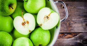 apples good for teeth water