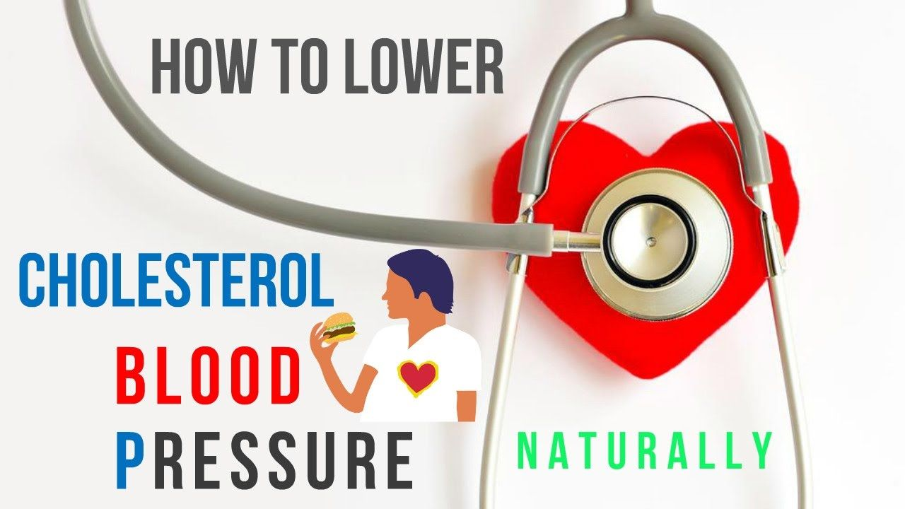 lowers cholesterol and blood pressure