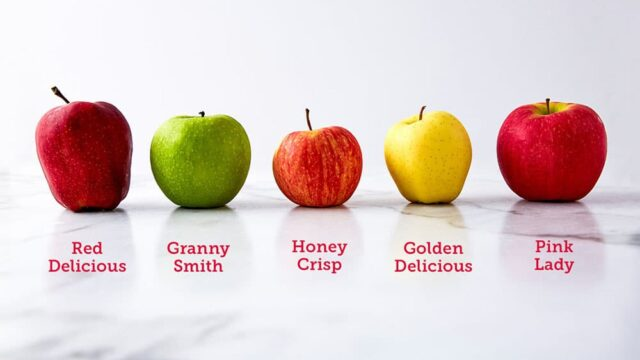How many calories in small apple