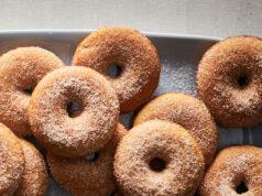 apple cider donut calories cinnamon sugar