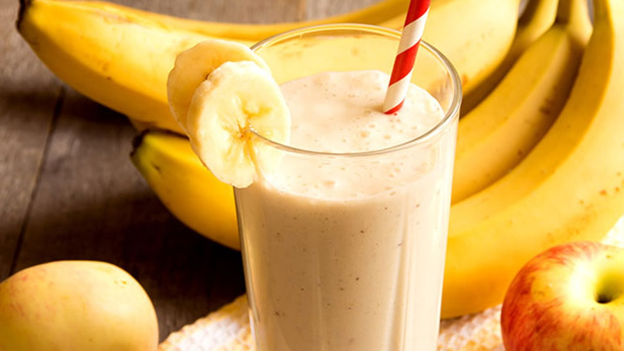 apple and orange banana smoothie
