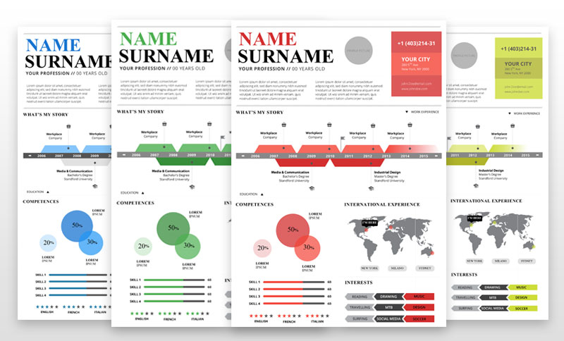 Top 5 Infographic Resume Templates