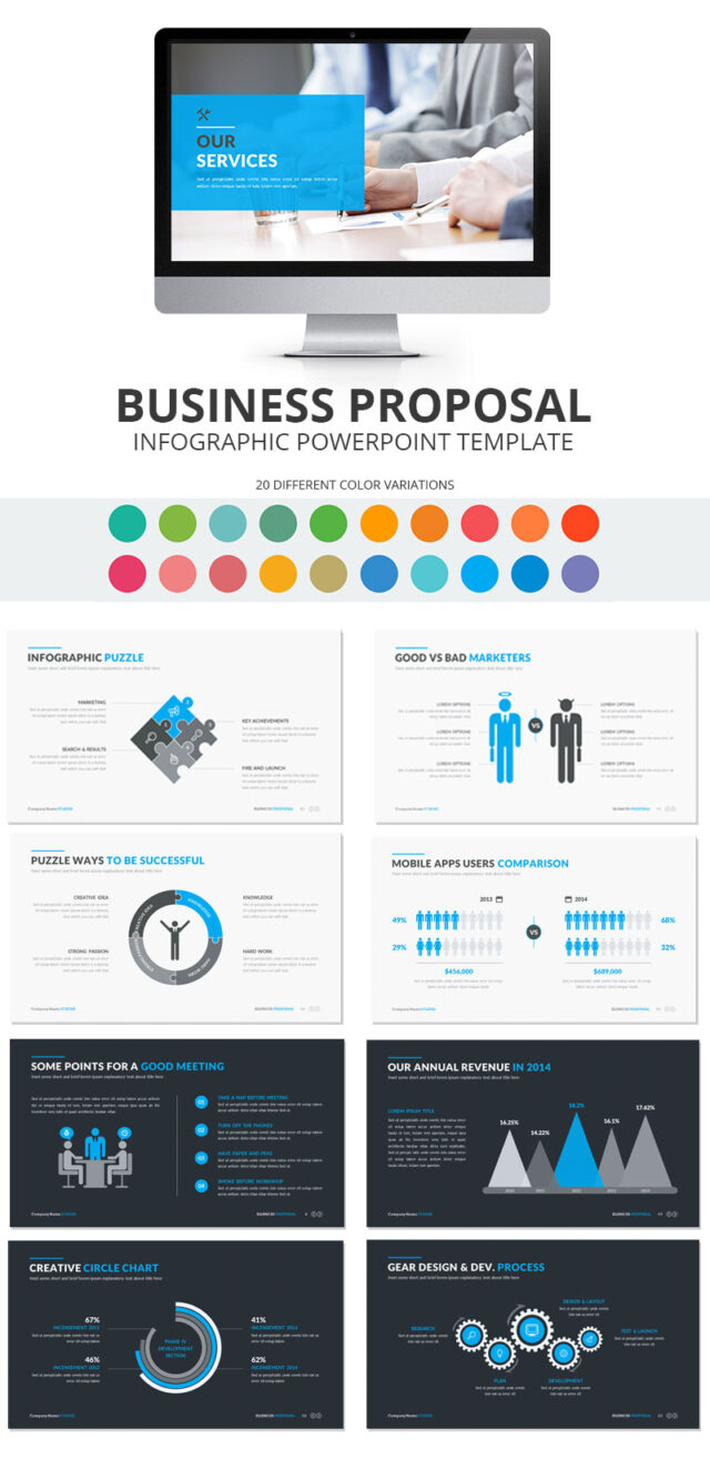 rfp presentation template - proposal powerpoint template the best and most impressive